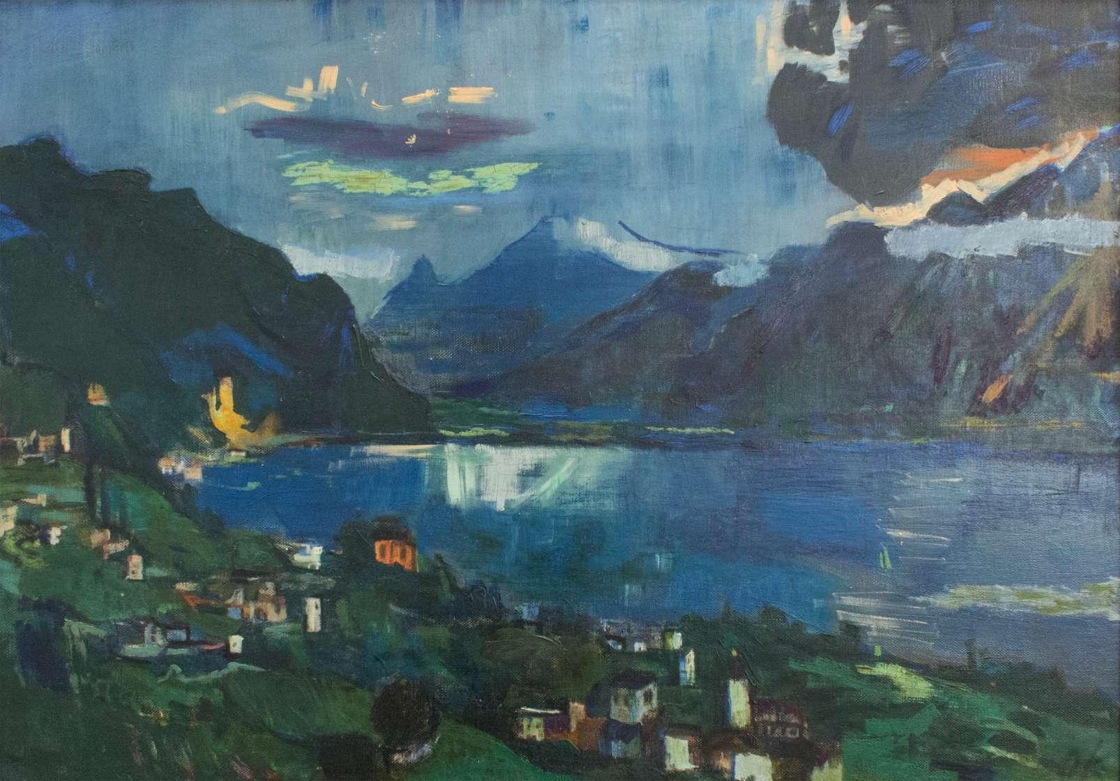 Oskar Kokoschka - Genfer-See II