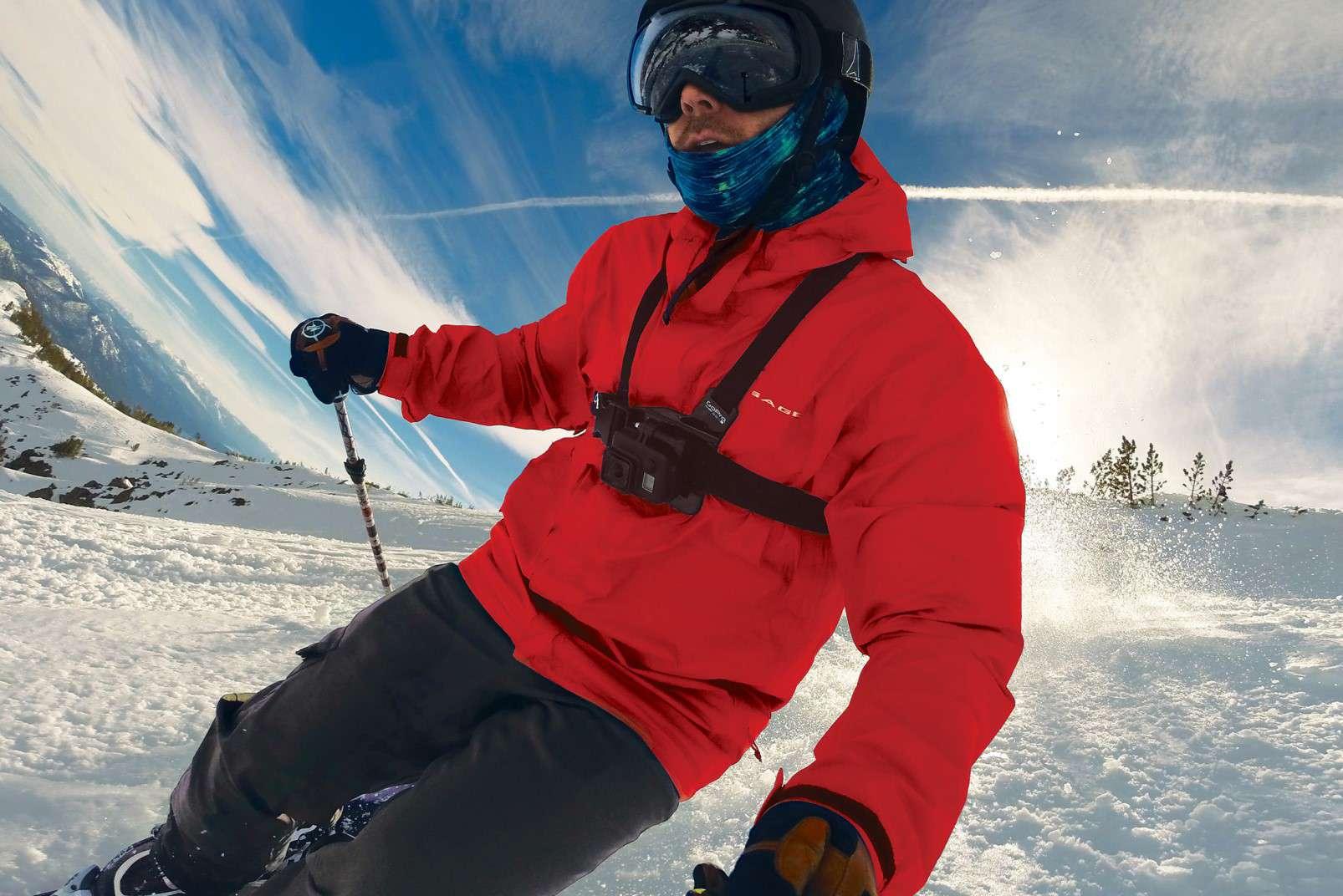 GoPro HERO7 Black and winter sports