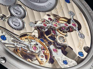 A. Lange & Söhne Zeitwerk Date caseback - SIHH 2019
