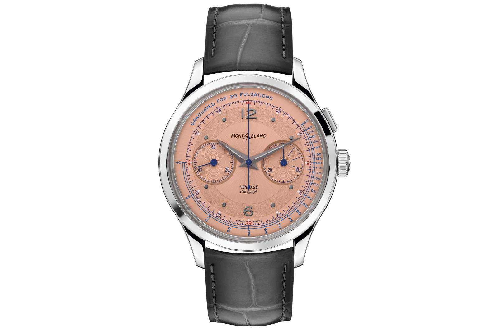Montblanc Heritage Pulsograph Limited Edition 100 - SIHH 2019
