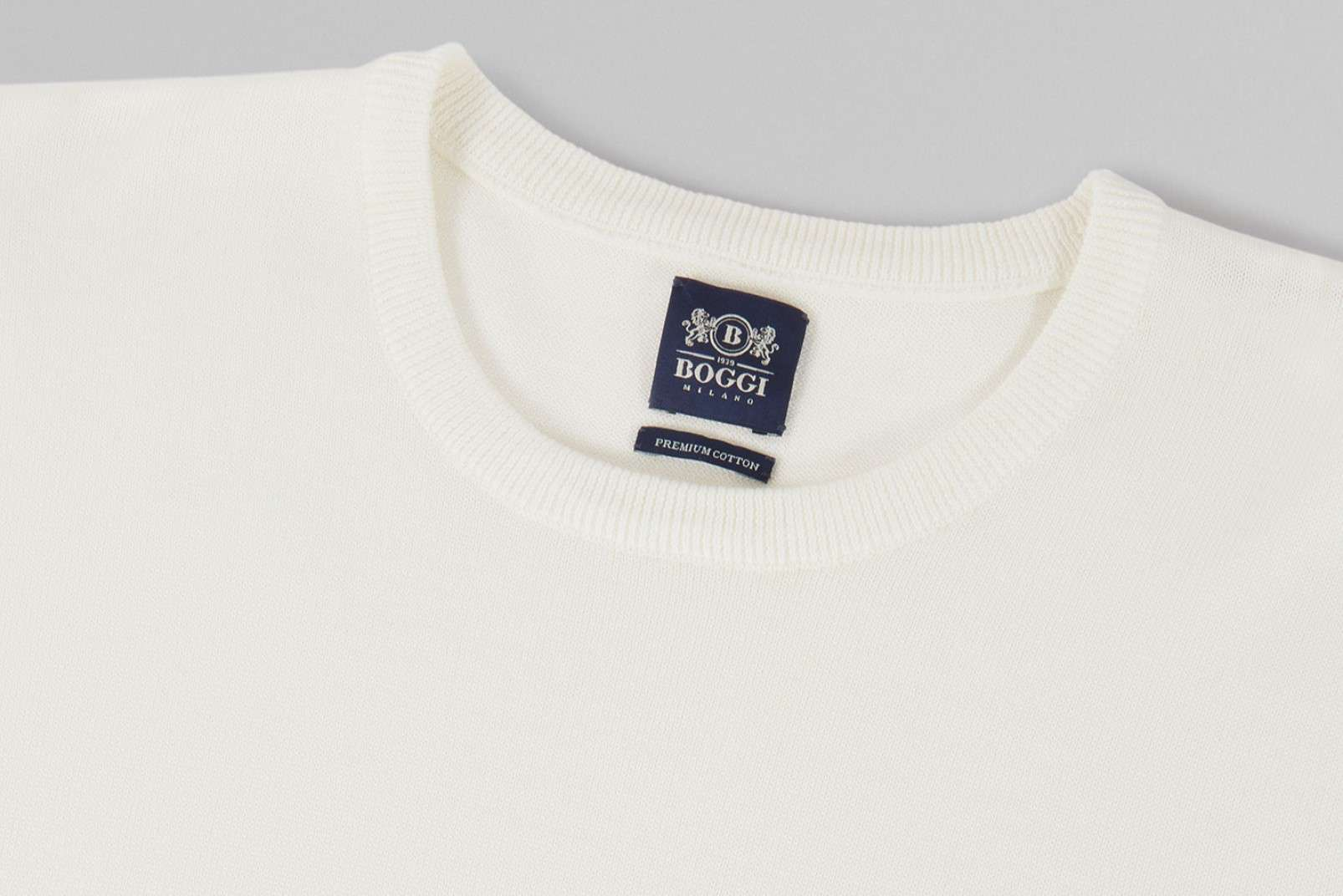 Boggi Milano Pima cotton knitwear BO19P037105