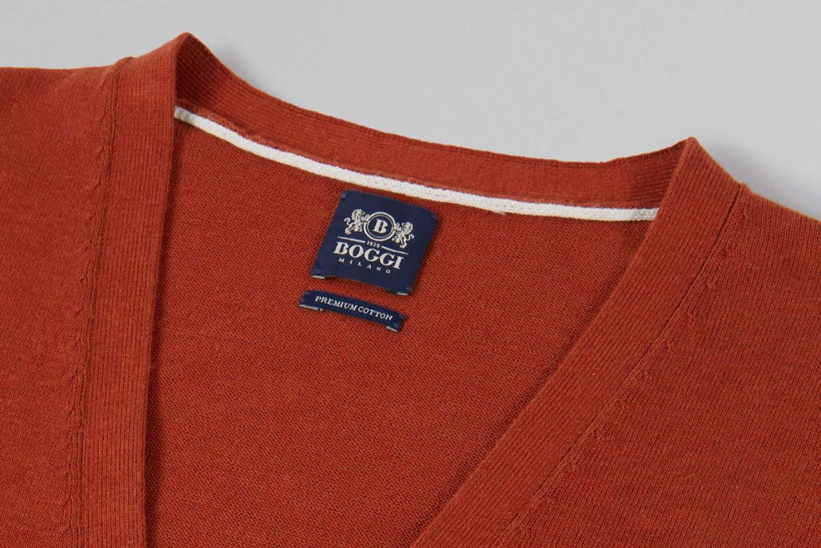 Boggi Milano Pima cotton knitwear