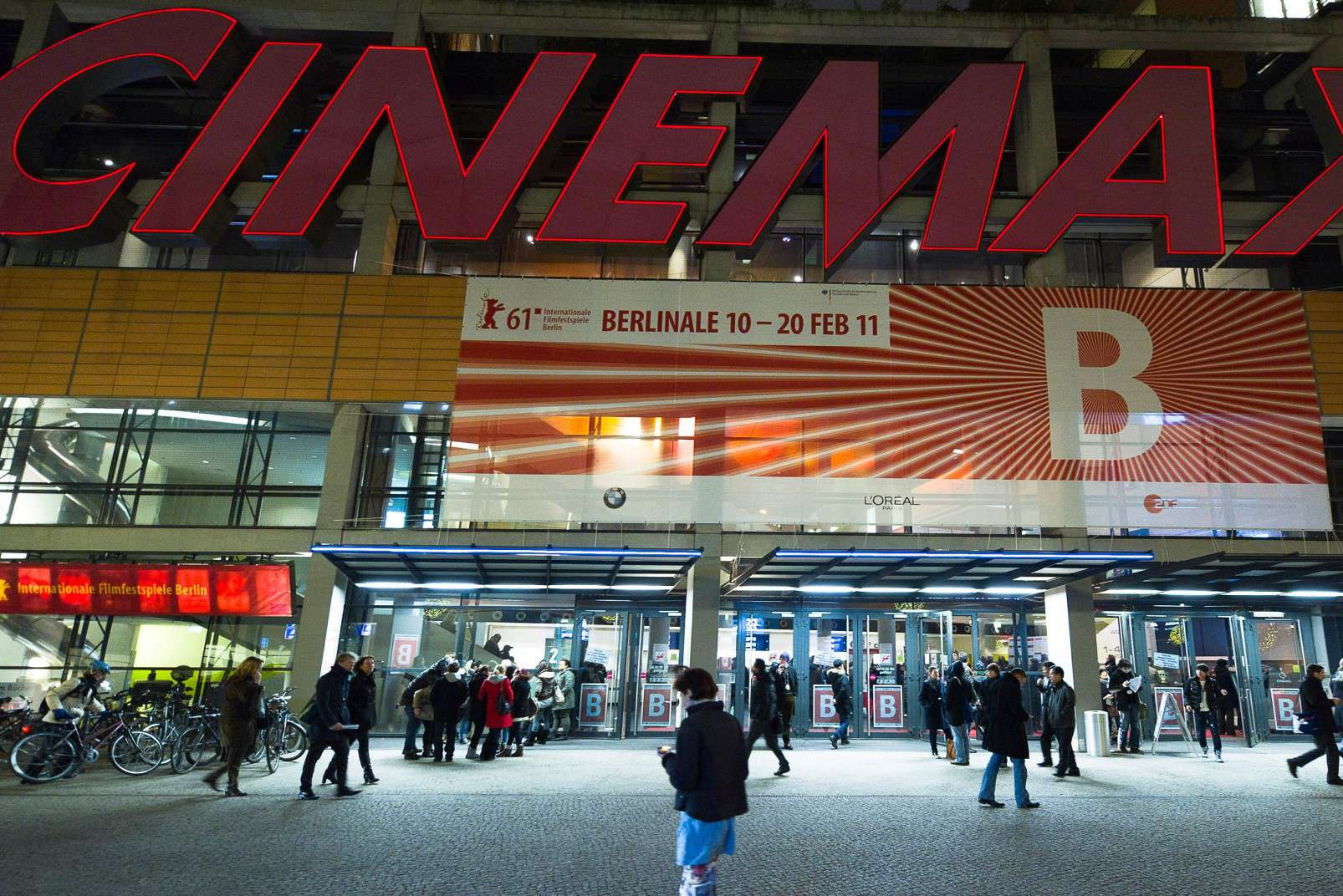 Berlinale 20190 - the Cinemaxx at Potsdamer Platz