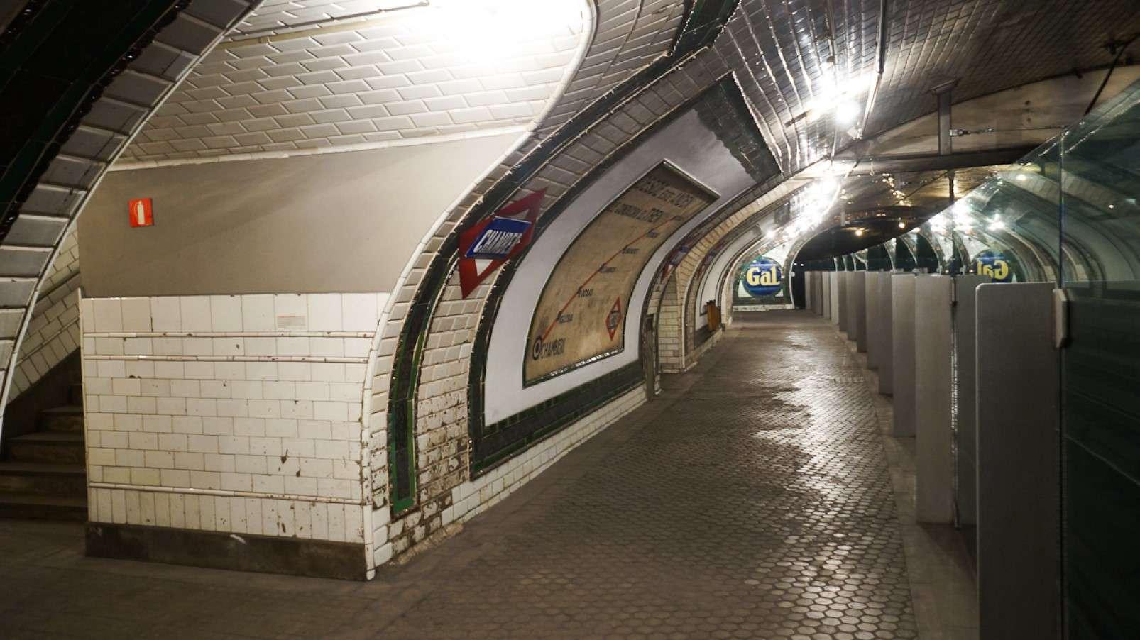 Chamberí station madrid