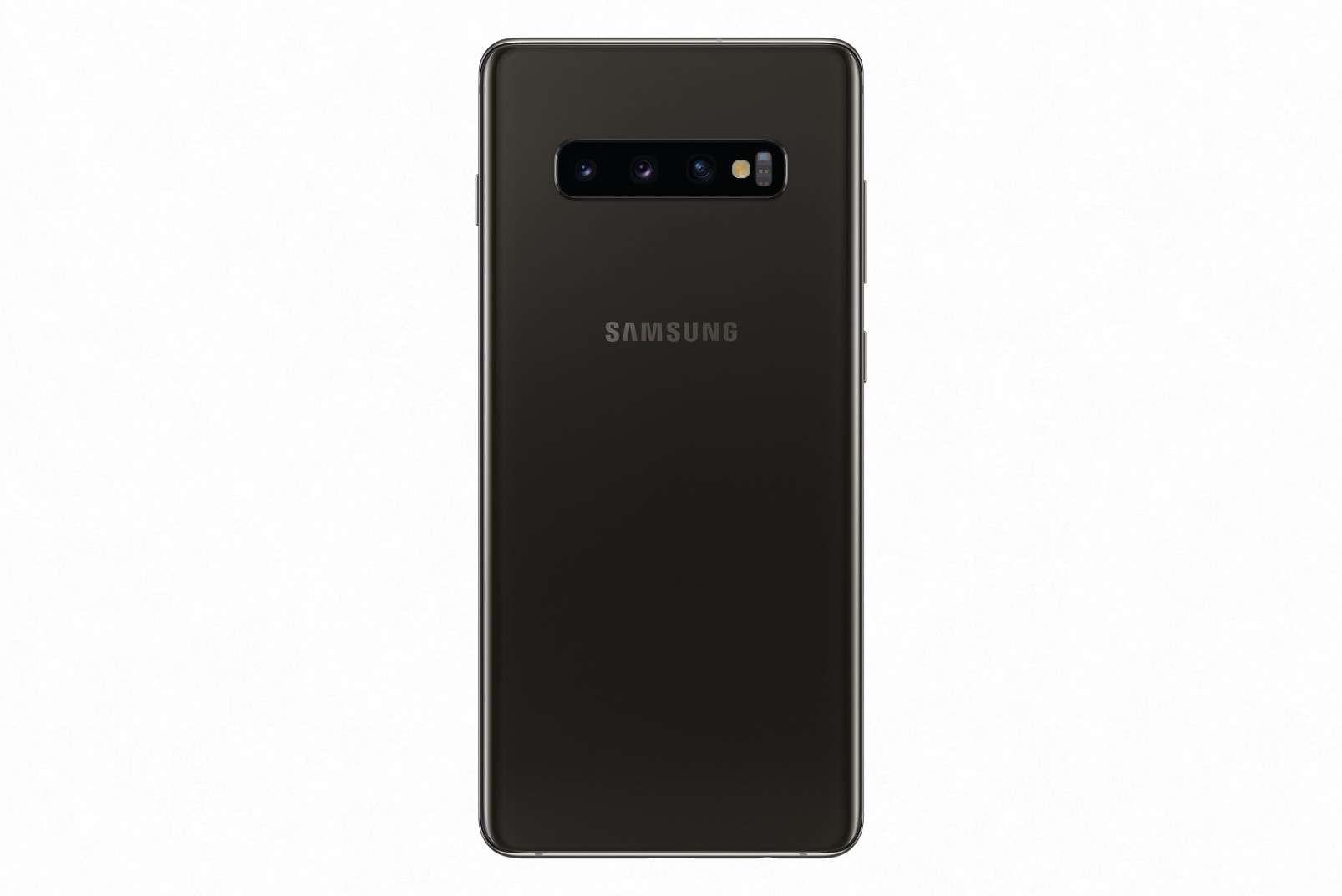 Samsung Galaxy S10 Plus Ceramic Black, back