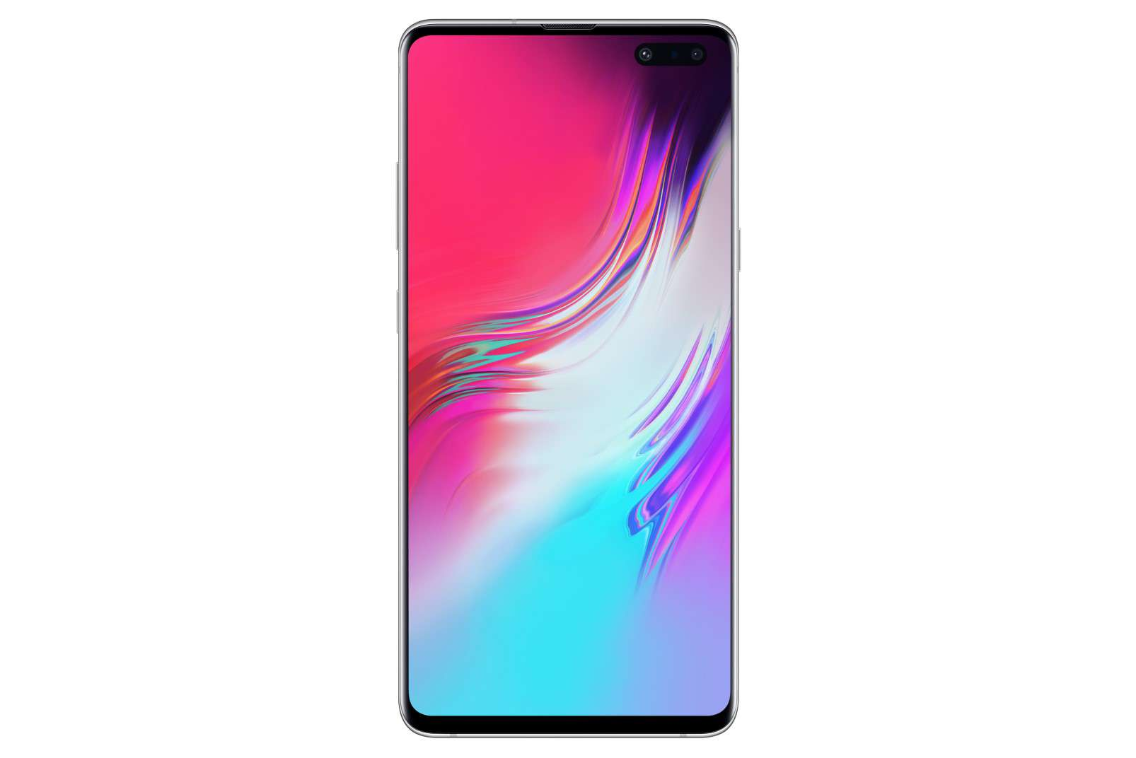 Samsung GalaxyS10 5G white - front