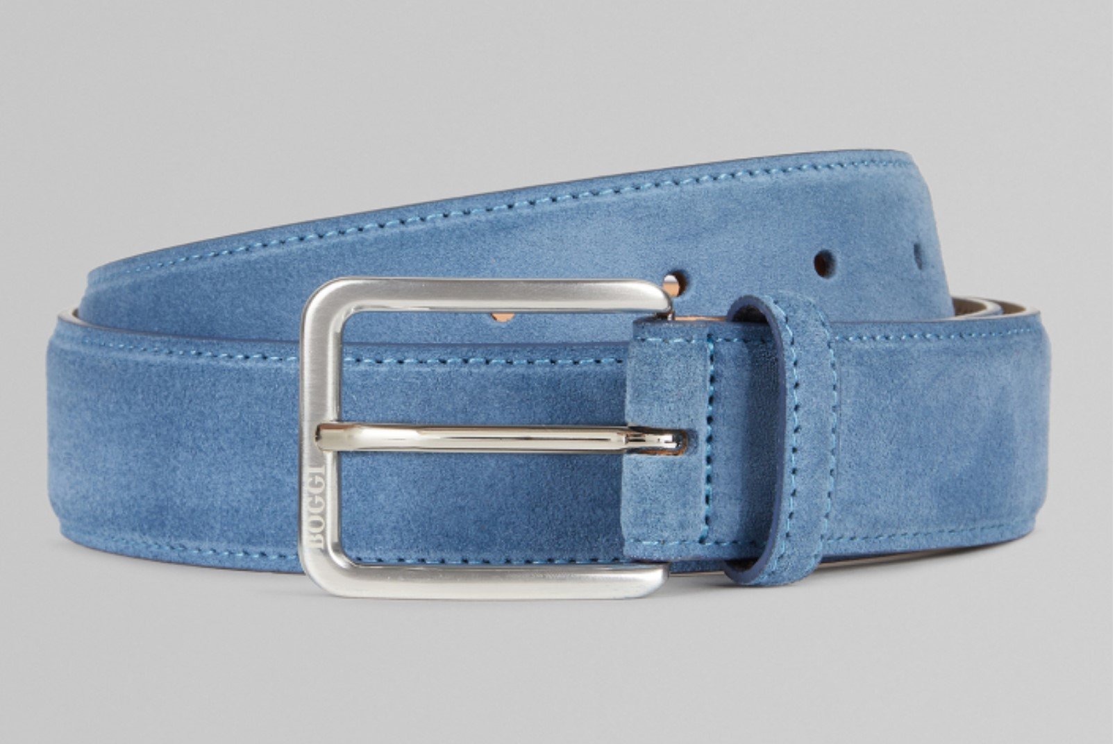 belt nabuk light blue
