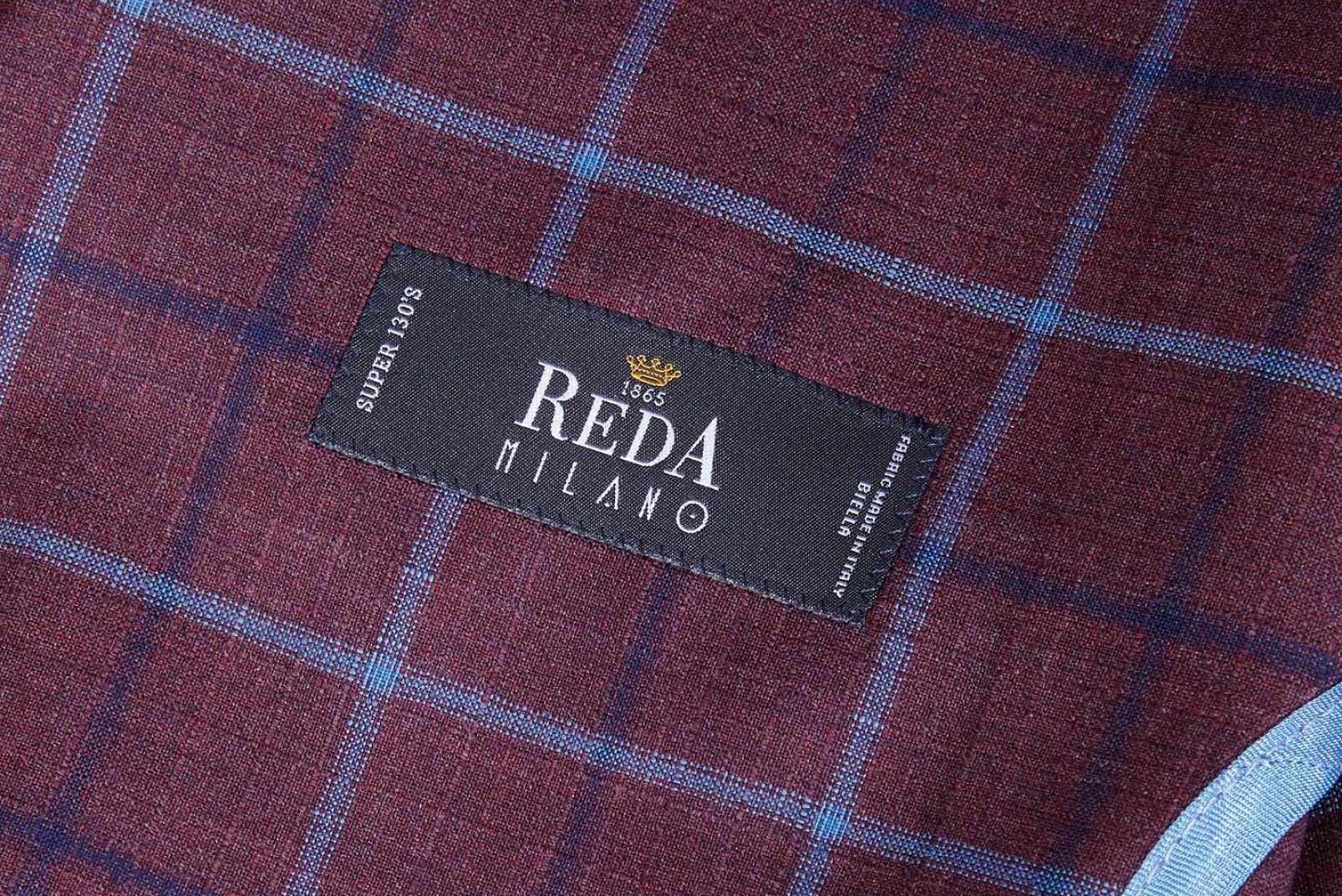 Boggi Milano Aria blazer Reda burgundy