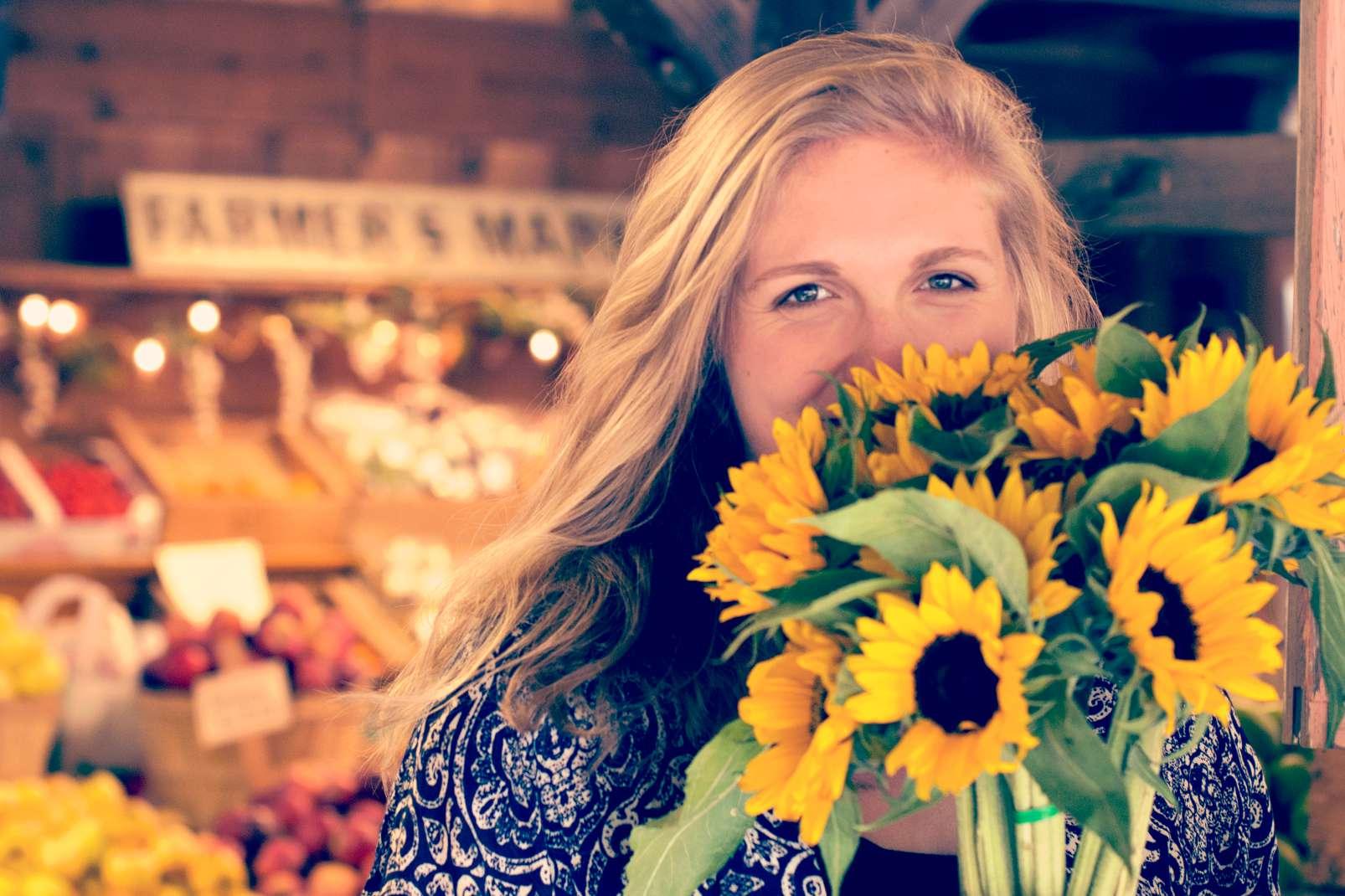 Perfect weekend flowers