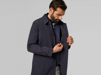BO19P071201 Boggi Milano Travel Raincoat-W1606