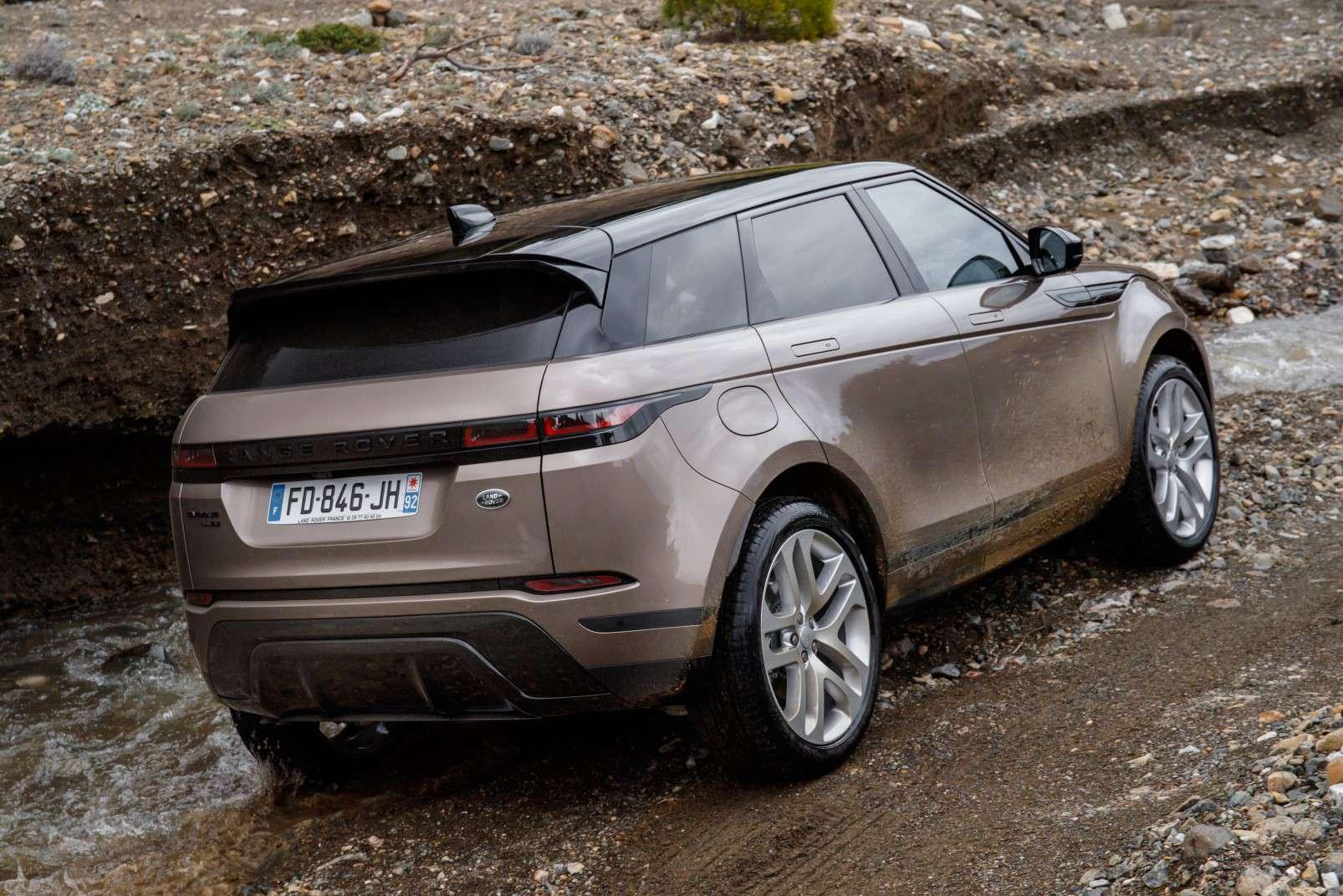 2019 new Range Rover Evoque