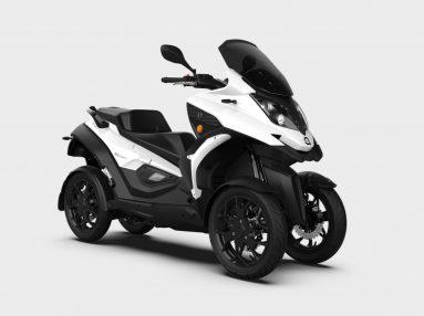 e-Qooder 4-wheel maxi-scooter