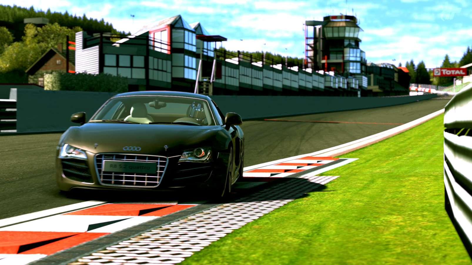 Circuit at Spa Francorchamps