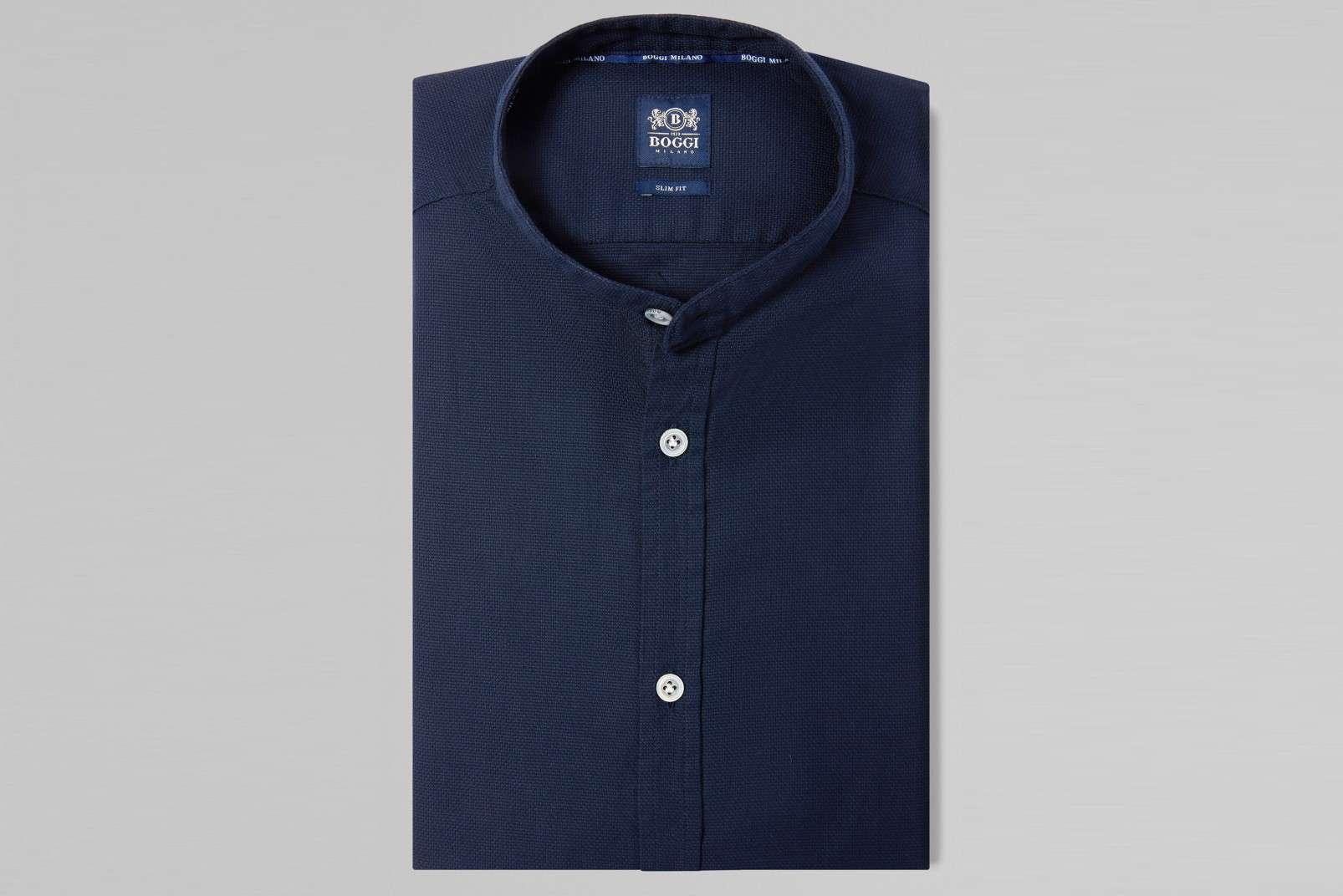 Boggi Milano Korean collar BO19P017401