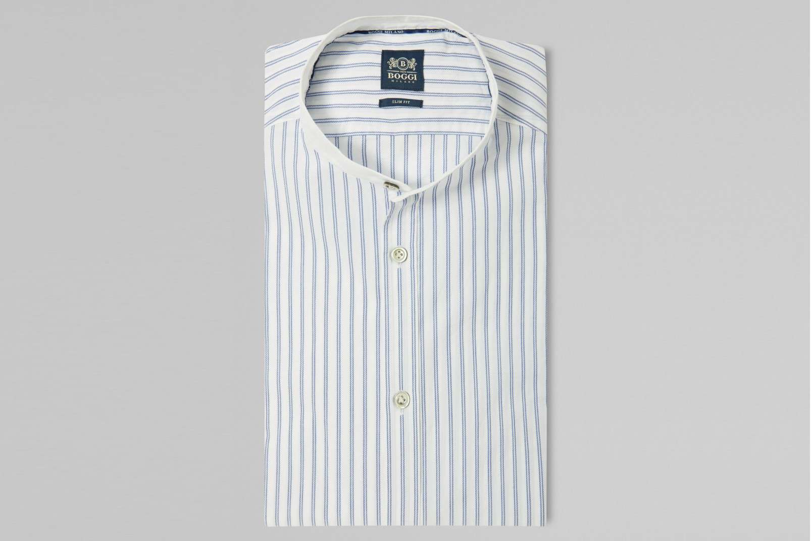 Boggi Milano Korean collar BO19P023001