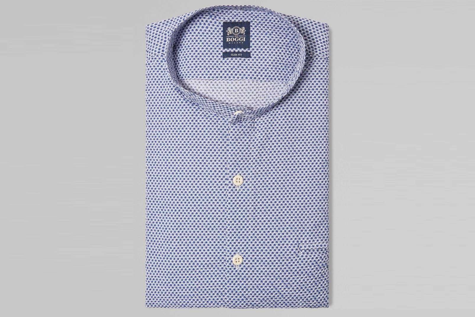 Boggi Milano Korean collar BO19P092601