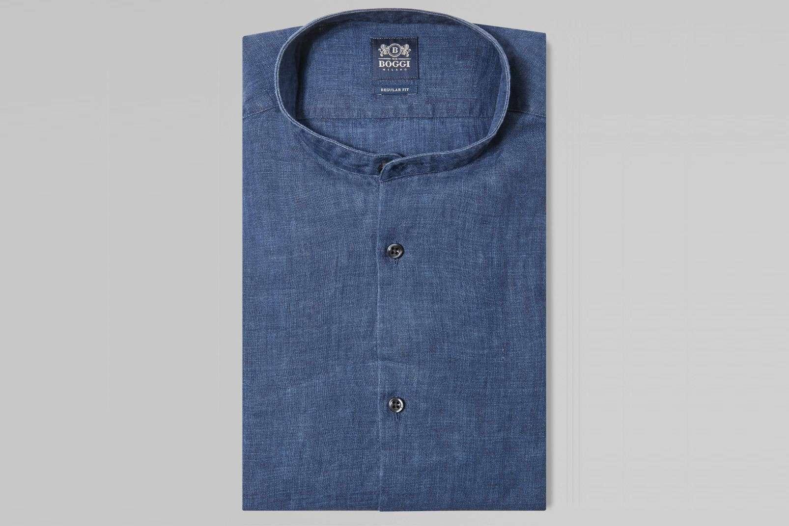 Boggi Milano Korean collar BO19P118602