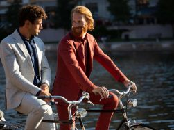 Linen suits by Boggi Milano