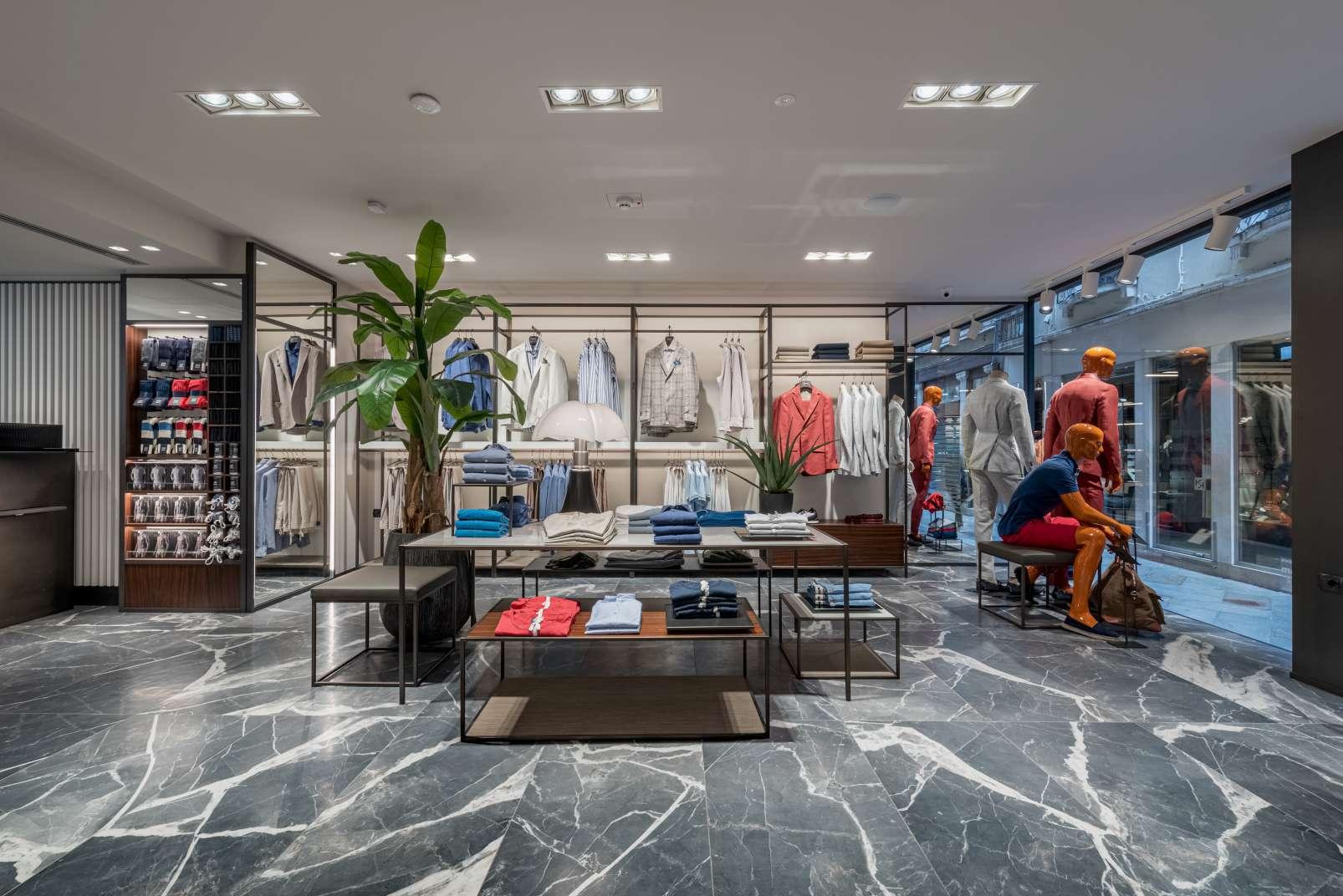 Boggi milano and its new retail interior design concept for Store design milano