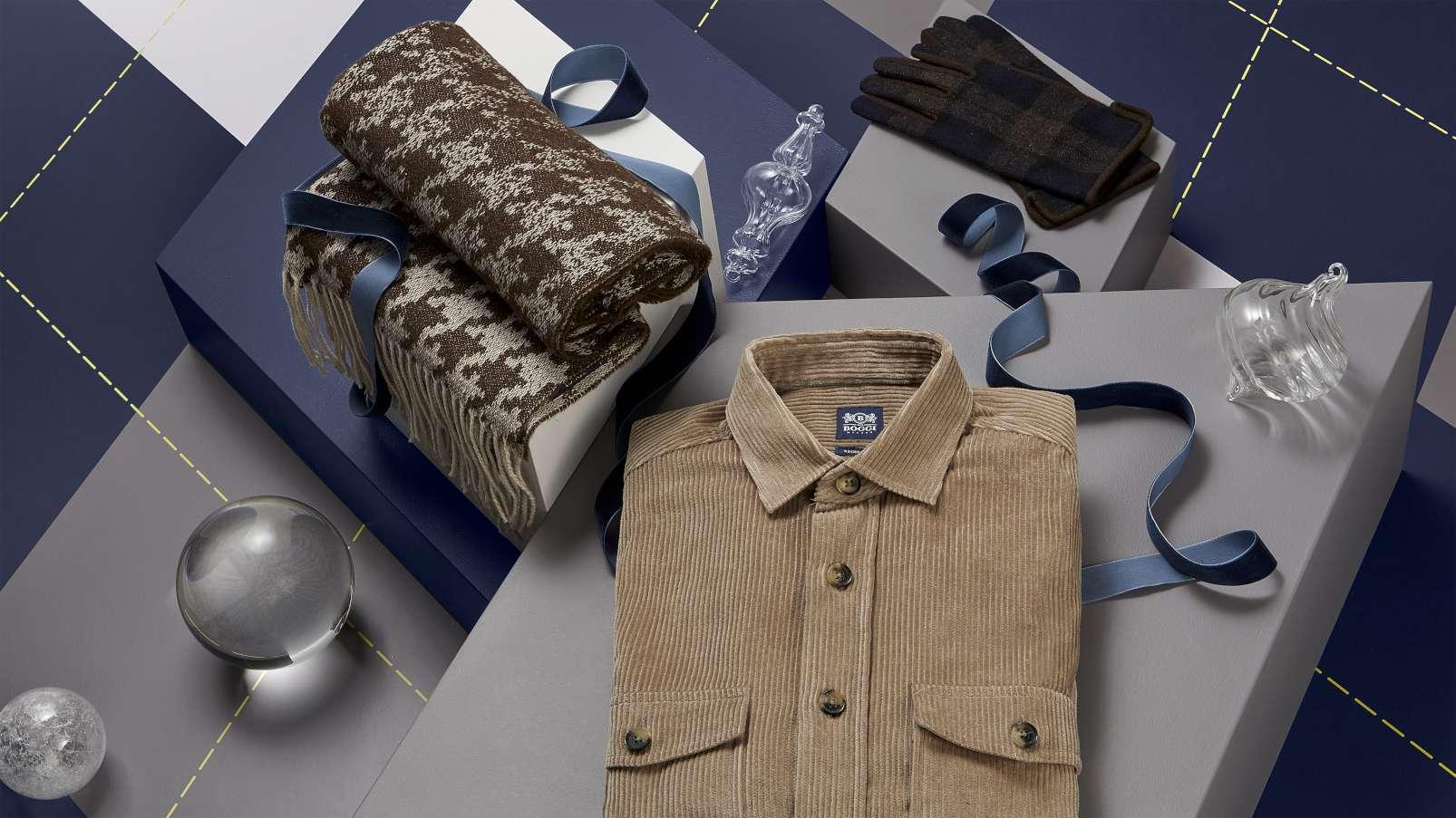 christmas present ideas for dad boggi milano scarf